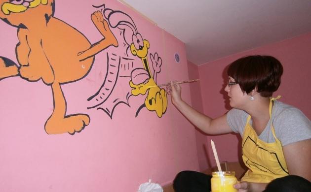 Oslikavanje zida