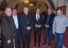 Pater Železnjak, Boris Novak, biskup Mrzljak, župan Posavec, Milivoj Kossi i David Štampar