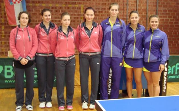 Stolni tenis ekipe Hodošana i Pule
