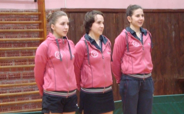 Paula Markati, Tamara Ramić i Magdalena Basić (Hodošan)