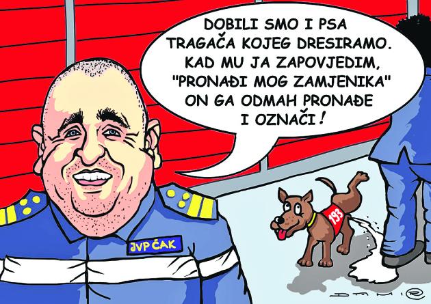 Karikatura Damira Novaka