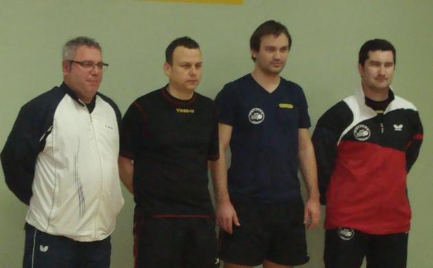 Goran Balić, Kristian Kovačić, Eugen Šimon i Boris Preksavec