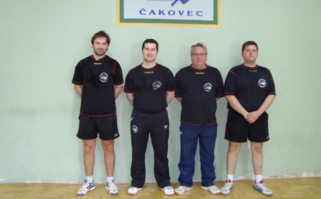 Eugen Šimon, Boris Preksavec, Goran Balić i Siniša Ajdarpašić (Putjane)