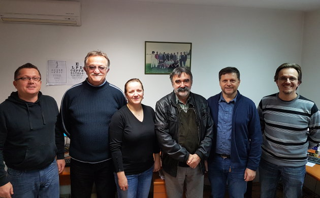 Dejan Žagar inf., Lalo Grujić, Jasminka Žužul dipl.inf., Darko Đuran, Zlatko Krištofić ecc. i Saša Petković inf.