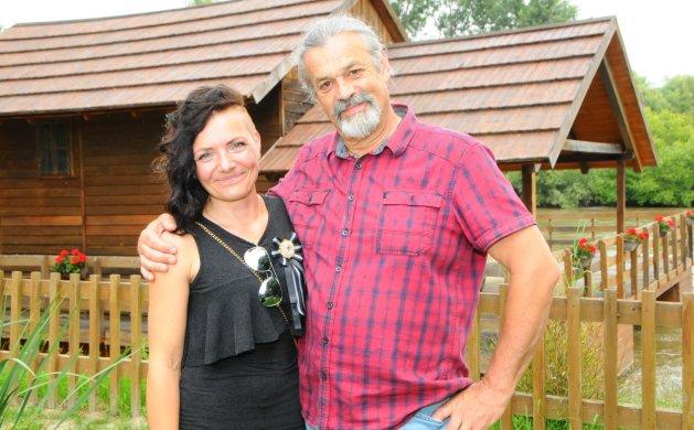 Kolege likovnjaci Marina Mrazović i Tibor Frančič