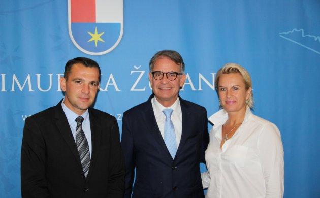 Matija Posavec, Gari Cappelli i Sandra Herman