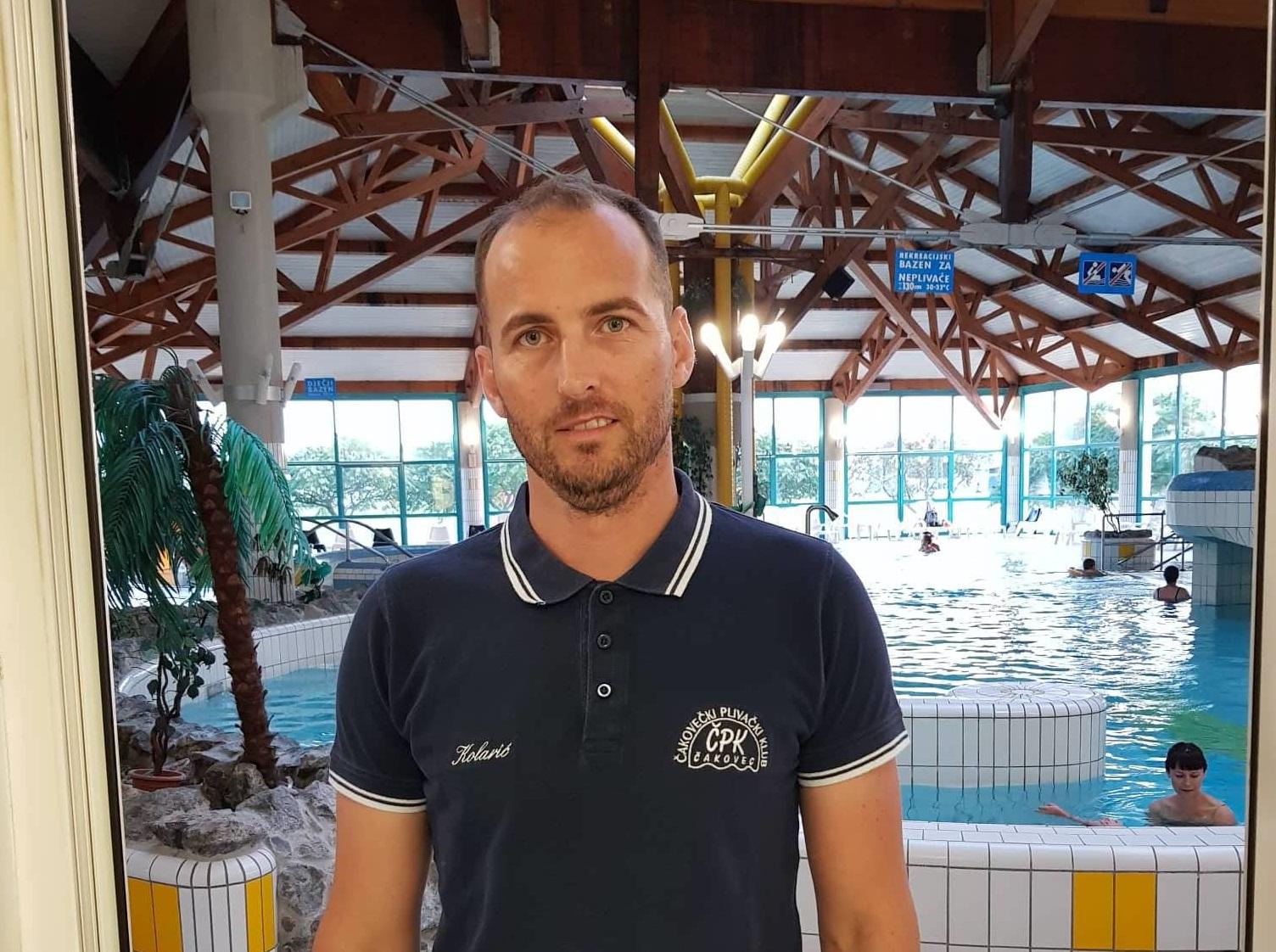 Predsjednik i trener ČPK a Goran Kolarić trener mlade plivačke reprezentacije