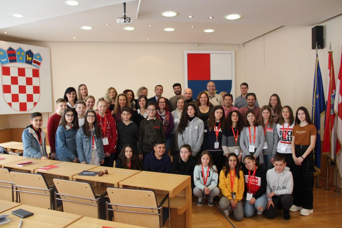 Sudionici Erasmus projekta posjetili Međimursku županiju