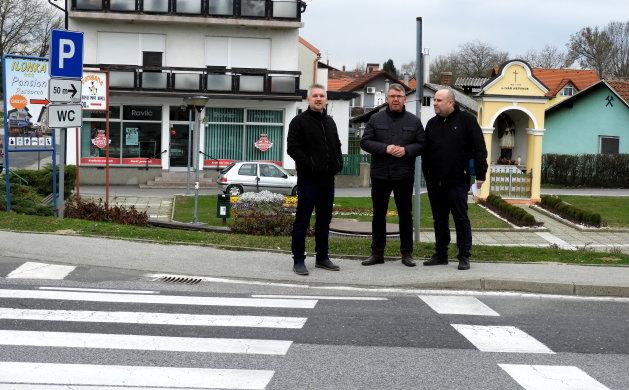 """Predstavnik Hrvatskih cesta protekle je srijede """"snimio"""" raskrižje na kojem će se uskoro postaviti semafori"""