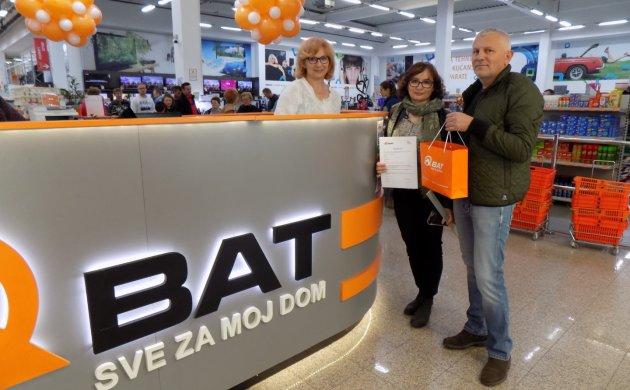 400-ti kupci primaju svoj poklon bon od 1.000,00 kuna