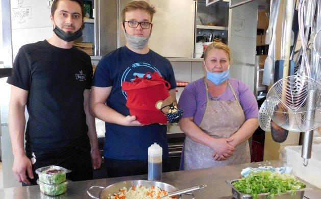 Mihael Farkaš, Denis Makar i Irina Sakal