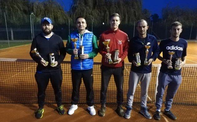 Nagrađeni nakon odigrane Murske lige: Luka Rihtarec, Josip Šajnović, Karlo Novak, Dario Mikulić i Bernard Hrženjak