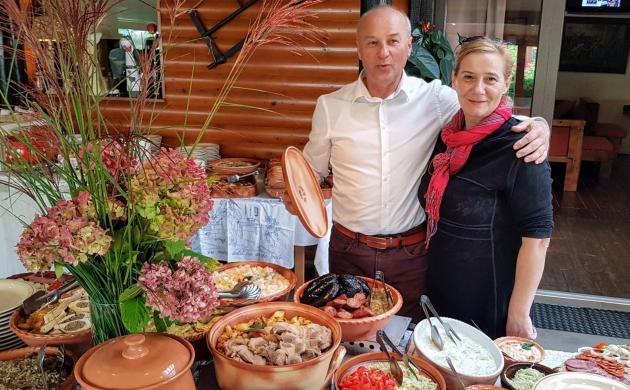 Vlasnici Agencije Etno Art Travel, Marijan i Tatjana Martinjaš