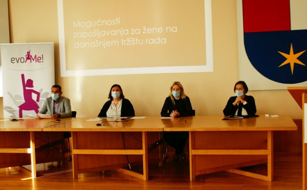 Župan Matija Posavec, Marijana Breški, Frana Lana Kanoti te Blaženka Dasović