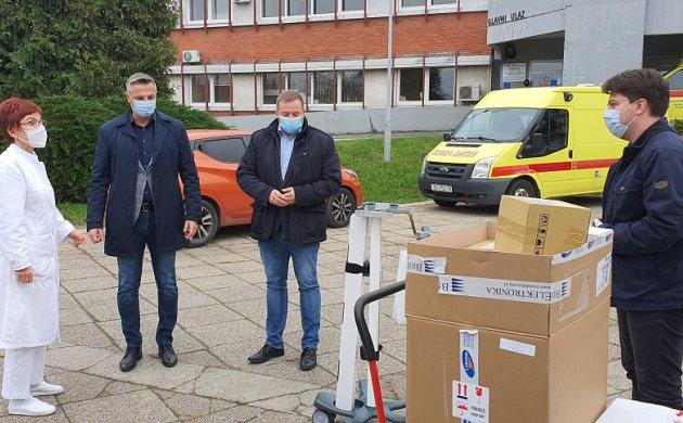 Respirator je liječnicima predan 12. studenog